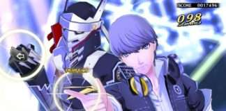 Persona 4: Dancing All Night - Yu and Izanagi