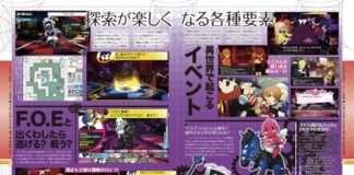 Persona Q Famitsu - Map Drawing