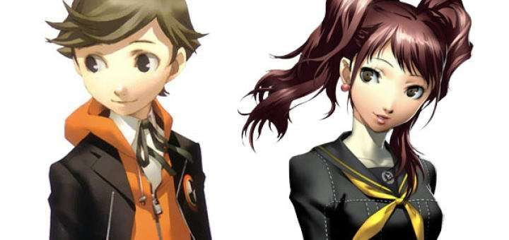 Ken and Rise - Persona 4 Arena Ultimax