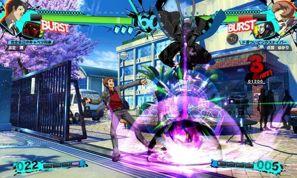 Persona 4 Arena Ultimax - Tohru Adachi 3