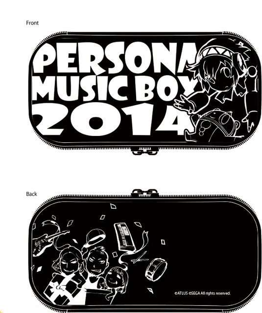 Pouch (w/ 3DS XL and Vita cases) - 2,000 JPY