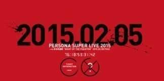Persona 5 Concert Countdown