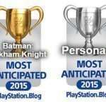 PlayStation Blog: Persona 5 Places Third for Most Anticipated 2015 Game