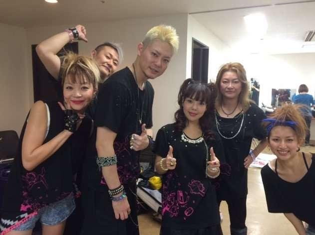 Lotus Juice, Shihoko Hirata and Yumi Kawamura from Persona Music Box 2014.