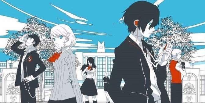 Persona 3 The Movie #1 Key Art