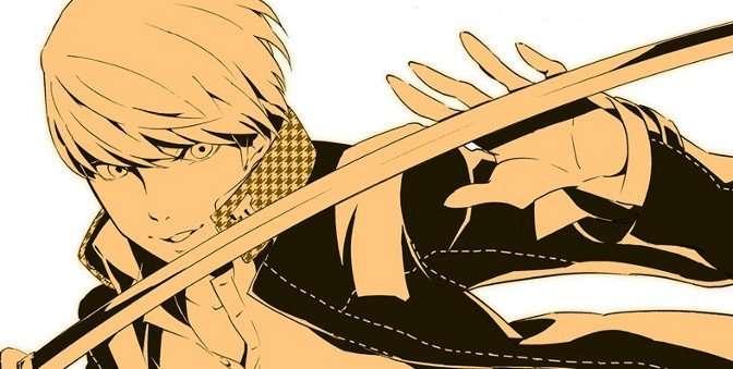 Persona 4 Arena Manga Header
