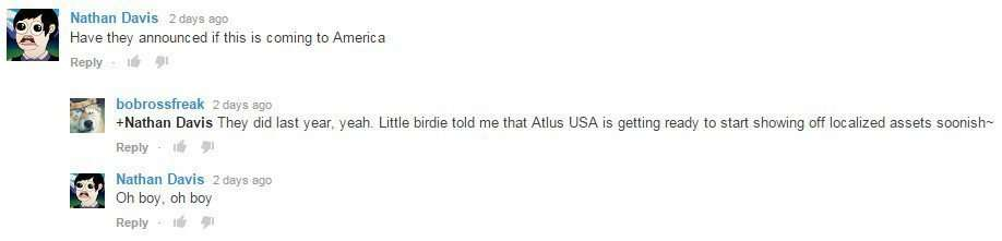 Persona 4 Dancing Atlus USA Localization Comments