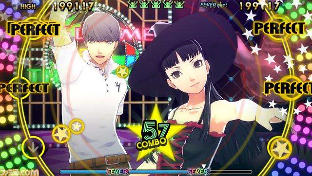 In Persona 4: Dancing All Night, players will gain P$ (Persona dollars) while playing, which can be used to obtain a variety of costumes.