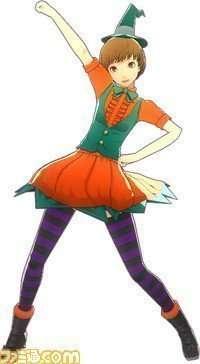 Chie Satonaka - Pumpkin Dress