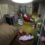 Kanamin Mashita's Room in Persona 4: Dancing All Night