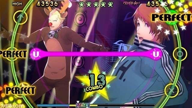 Persona 4: Dancing All Night, Kanji Tatsumi and Yosuke Hanamura