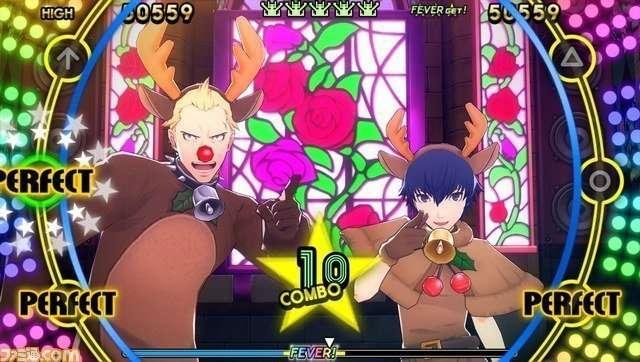 Persona 4: Dancing All Night, Kanji Tatsumi and Naoto Shirogane