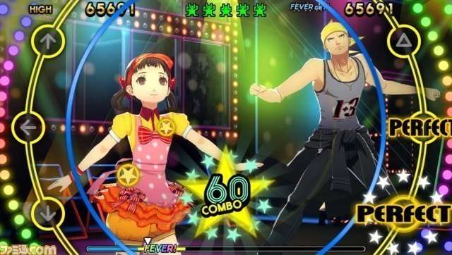 Persona 4: Dancing All Night, Kanji Tatsumi and Nanako Dojima