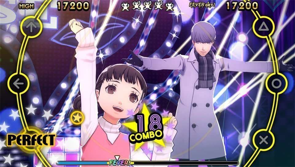 Nanako and Yu - Persona 4: Dancing All Night