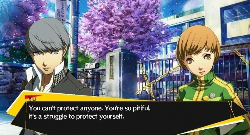 Persona 4 Arena Story