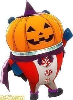 Teddie - Pumpkin Head Costume