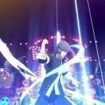 Yu Summoning Izanagi in Persona 4: Dancing All Night