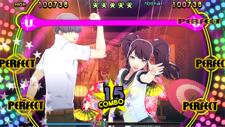 Nanako and Teddie - Persona 4: Dancing All Night