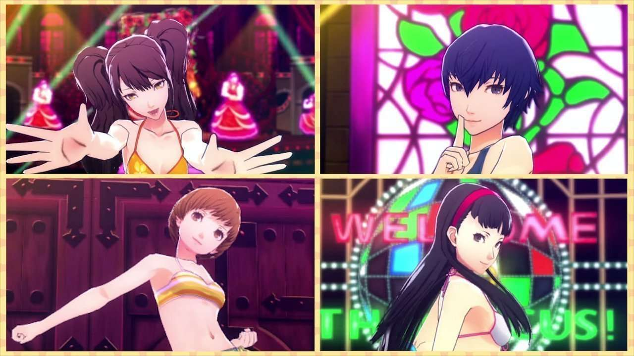 Persona 4 Dancing All Night Swimsuits.