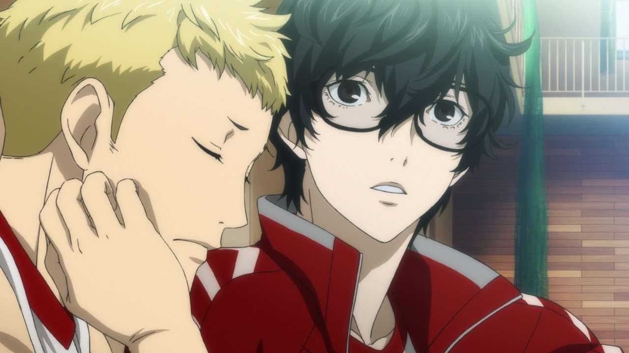Persona 5 Screenshot Cutscene