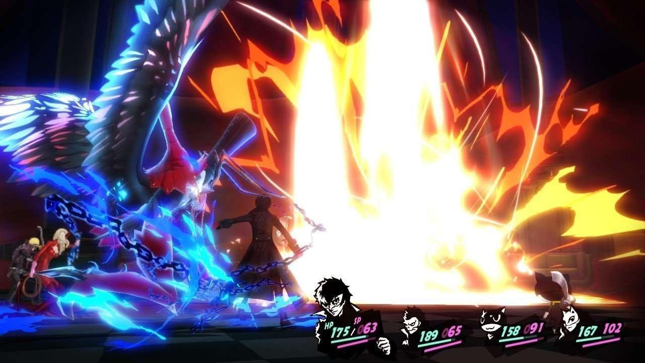 Persona 5 Screenshot Battle