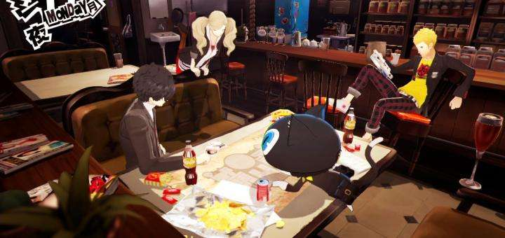 Persona 5 Screenshot Hideout