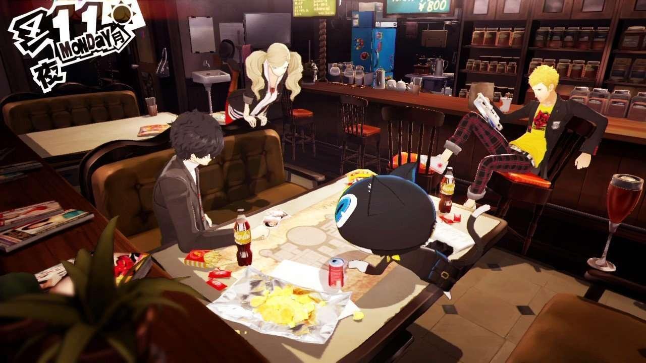 Persona 5 Screenshot Hideout