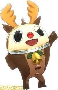 Teddie's P4D Reindeer Costume.