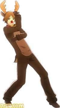 Yosuke Hanamura's P4D Reindeer Suit.