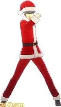 Yu Narukami's P4D Santa Claus outfit.