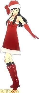 Yukiko Amagi's P4D Santa Dress.
