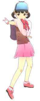 Nanako Dojima in her Magical Detective Loveline outfit.