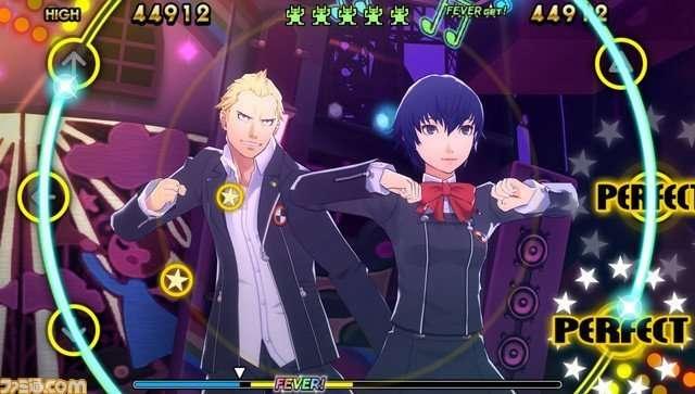 """The uniform female high school students who attend Gekkoukan high school wear in """"Persona 3."""""""