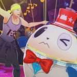 Kanji and Teddie quiz costume in P4D