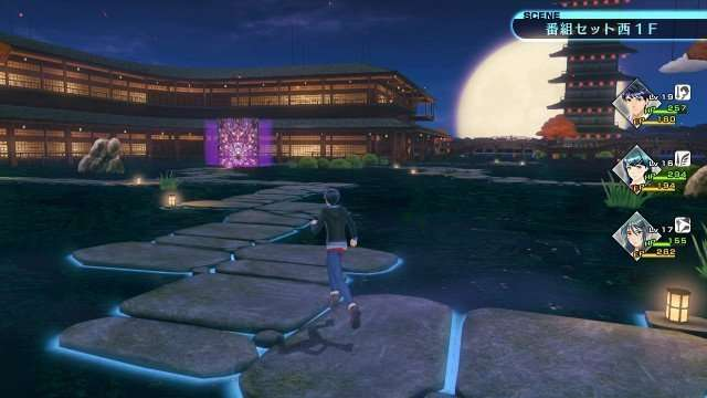 Shin Megami Tensei X Fire Emblem old version of the dungeon field.