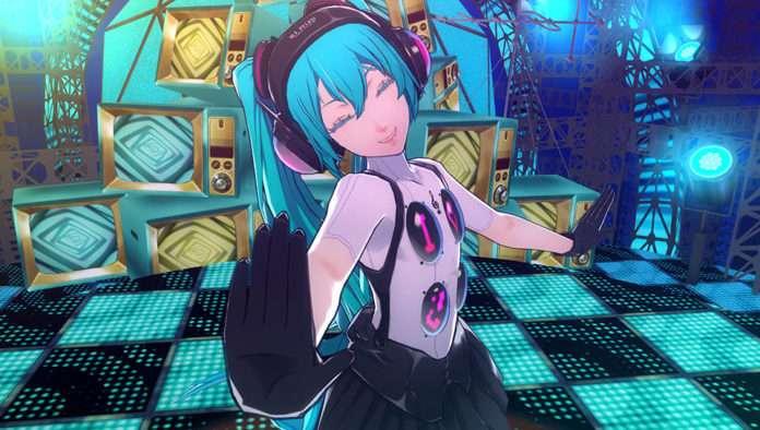 Hatsune Miku screenshot in P4D.