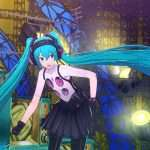 Hatsune Miku screenshot in P4D.