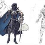 Genei Ibun Roku #FE Interview With the Mirage Designer Hideo Minaba, Concept Art