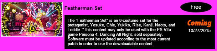 Featherman Set