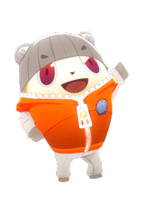 Teddie Costume P Color