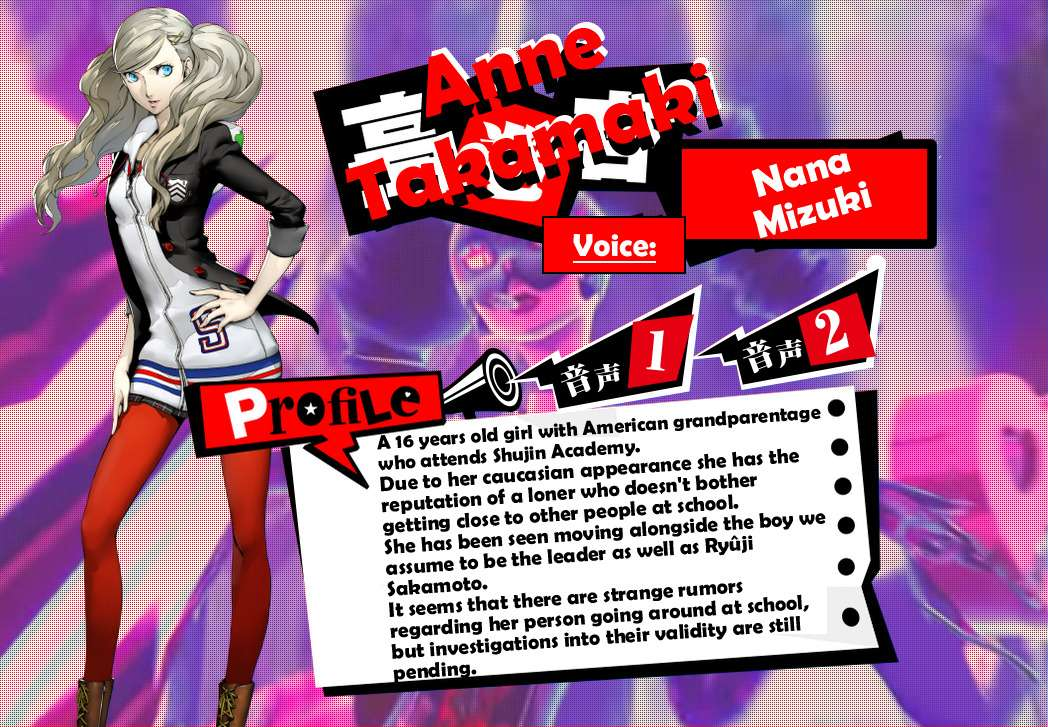 Anne Profile Translation