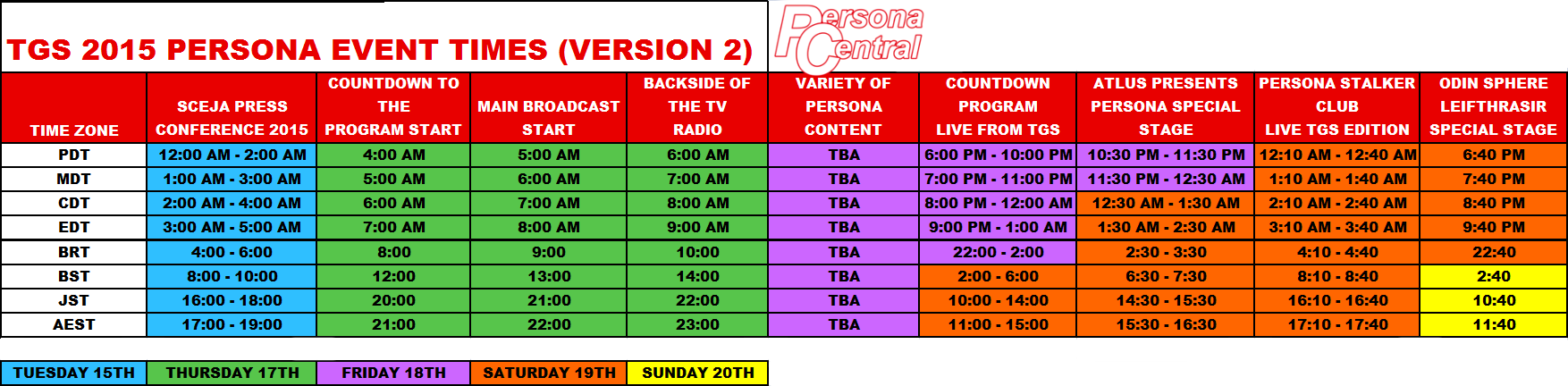 TGS 2015 Schedule Version 2