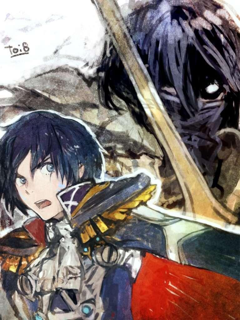 Itsuki and Chrom