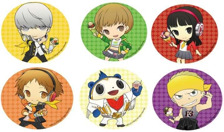 P4D Chara-Cre! Coasters 2