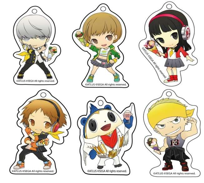 P4D Chara-Cre! Key Chains 2