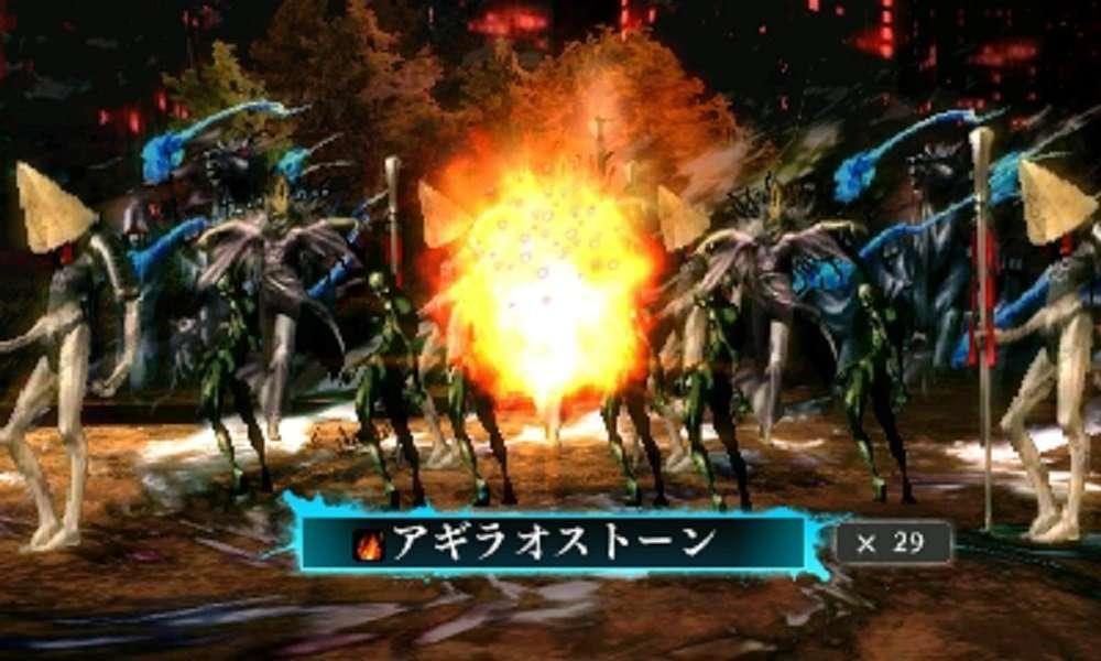 SMT IV F Battle Screenshot