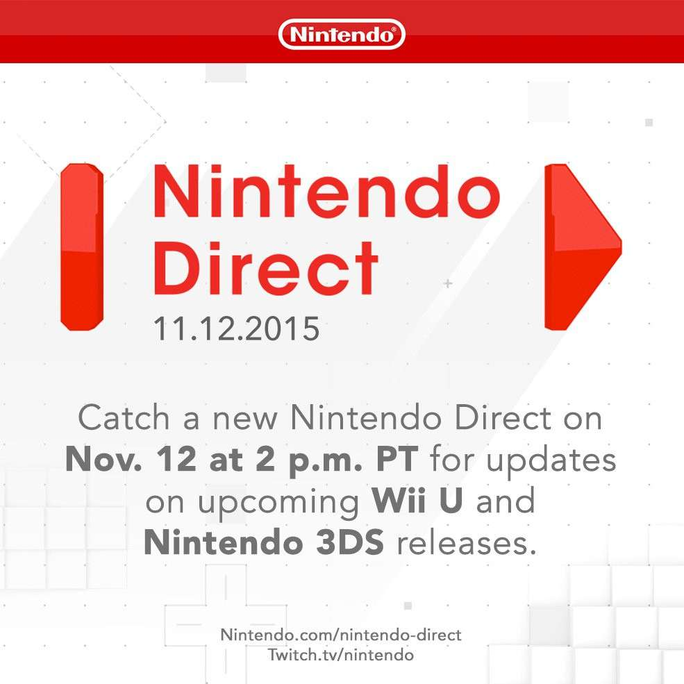 Nintendo Direct November 12
