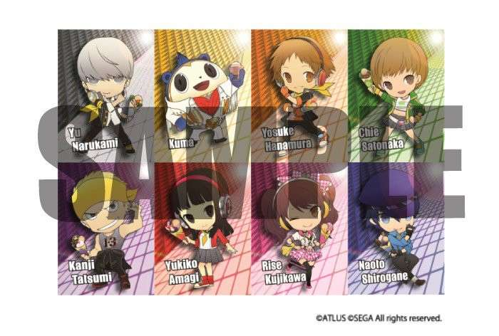 P4D Chara-Cre! Trading Cards