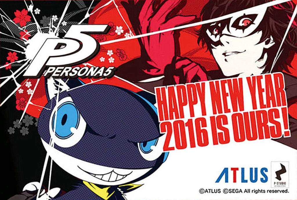Persona 5 New Year 2016