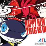Atlus Wishes Everyone a Happy New Year 2016